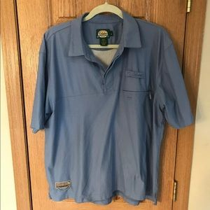 Cabelas Guidewear Outdoor Shirt Vented Lined L REG